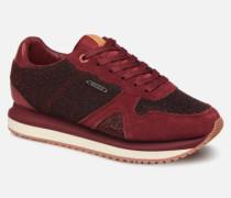 Zion Lux Sneaker in weinrot