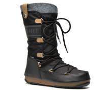 Monaco Felt Stiefeletten & Boots in schwarz