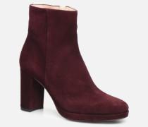 Elfie 7 Zip Boot Stiefeletten & Boots in weinrot
