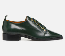 Retro Dandy Chaussures à Lacet #1 Schnürschuhe in grün