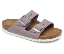Arizona Cuir Soft Footbed Clogs & Pantoletten in lila