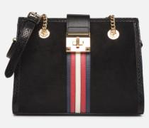 YERAWIA Handtasche in schwarz