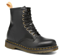 Vegan 1460 Stiefeletten & Boots in schwarz