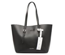 CK Zone Medium Shopper Handtasche in schwarz