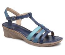 Logaki mohair prussi Sandalen in blau