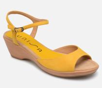 ISMO Sandalen in gelb