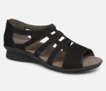 Padge C Sandalen in schwarz