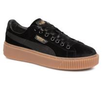 W Basket Platform VS Sneaker in schwarz
