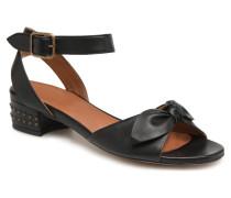 Vega Ankle Beetle Sandalen in schwarz