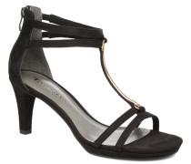 Lapacho Sandalen in schwarz