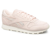 Classic Leather Shimmer Sneaker in rosa