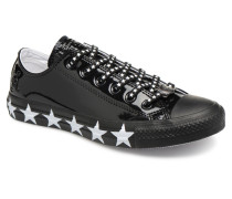 Chuck Taylor All Star Ox Miley Cyrus Sneaker in schwarz