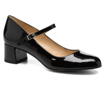 Satina Pumps in schwarz