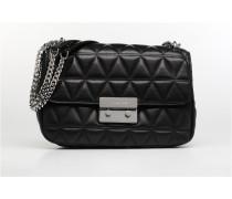 SLOAN LG CHAIN SHOULDER Handtasche in schwarz