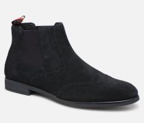 Dressy Casual Suede Chelsea Stiefeletten & Boots in blau
