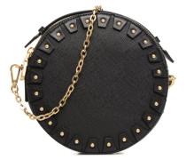 YO Cuir Circle bag Handtasche in schwarz