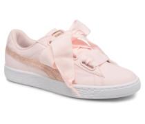 Basket Heart Canvas Wn's Sneaker in rosa