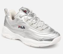 Ray F Low Wmn Sneaker in silber