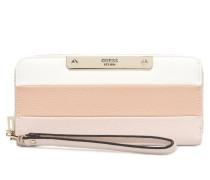Luma SLG Large Zip Around Portemonnaies & Clutches in rosa