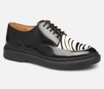 ORIGAMI Schnürschuhe in schwarz