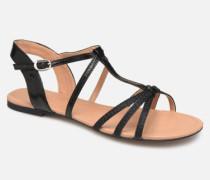 PEPE STRAP Sandalen in schwarz