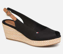ICONIC ELBA BASIC SLING BACK Sandalen in schwarz