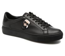Kupsole Karl Ikonik Lo Lace Sneaker in schwarz