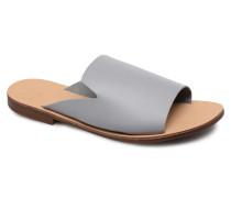 Peninna Leather sandal Clogs & Pantoletten in grau