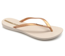 Wave Zehensandalen in beige