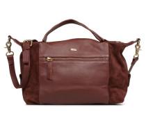 LEAH BAG Handtasche in weinrot