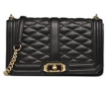 Love Crossbody Handtasche in schwarz