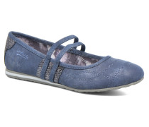 Larah Ballerinas in blau