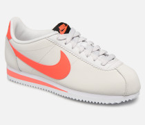 new arrival f9d34 7b422 Wmns Classic Cortez Leather Sneaker in weiß. Nike