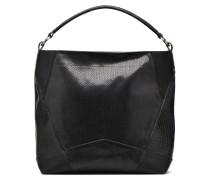 BUFERA Porté épaule Handtasche in schwarz