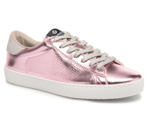 Deportivo Metalizado Sneaker in rosa