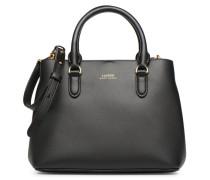 Marcy II Mini Satchel Handtasche in schwarz