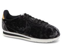 Cortez Velvet Sneaker in schwarz