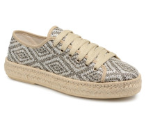 Taute Espadrilles in silber