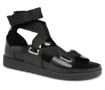 MARIELLA LEATHER SANDAL Sandalen in schwarz
