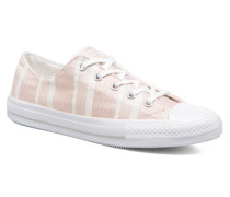 Chuck Taylor All Star Gemma Ox Engineered Lace Sneaker in rosa