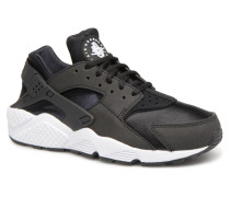 Wmns Air Huarache Run Sneaker in schwarz