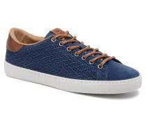 Deportivo Serraje Grabado Sneaker in blau