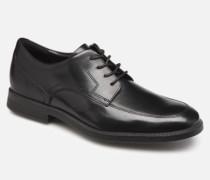 DP Modern Apron Toe C Schnürschuhe in schwarz