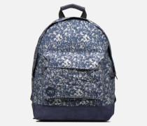 Premium Denim Spatter Backpack Rucksäcke in blau