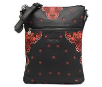 MANUELA FOULARD GHANA Handtasche in schwarz