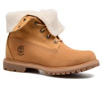 Authentics Teddy Fleece WP Fold Down Stiefeletten & Boots in braun