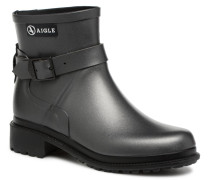 Macadames Low Stiefel in silber