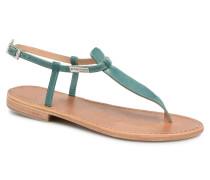 Narbuck W Sandalen in blau
