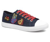 Low lace Sneaker Gigi Hadid 1C in blau