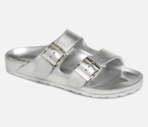 Bubbles Slide Clogs & Pantoletten in silber